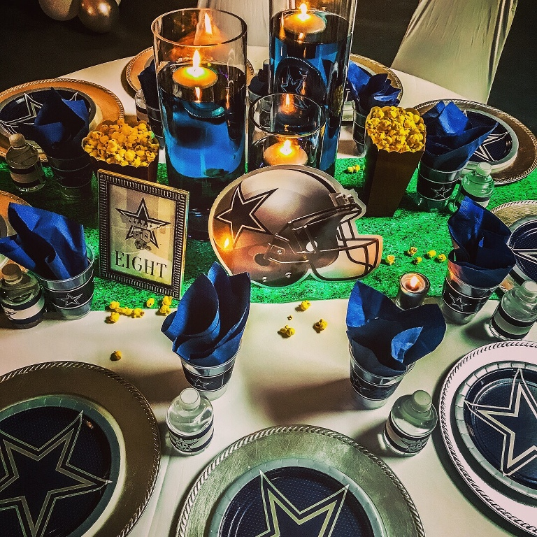 Tish Bullard | Football Themed Party