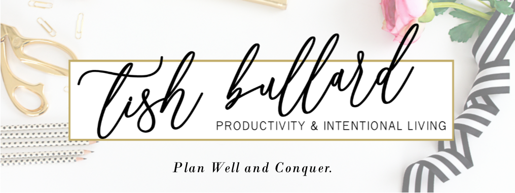 Tish Bullard | A Productivity and Intentional Living Blog logo